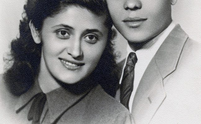 My parents - 15th August 1949