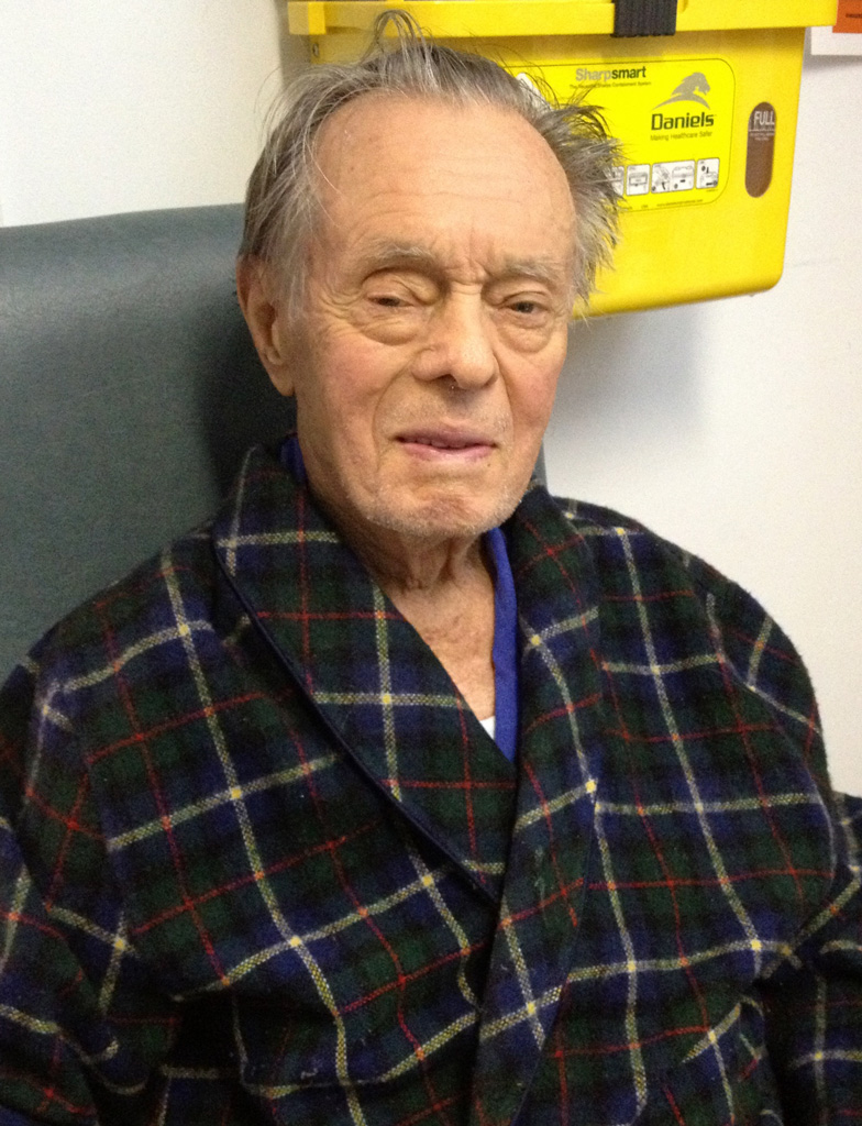 My father in rehab at age 86