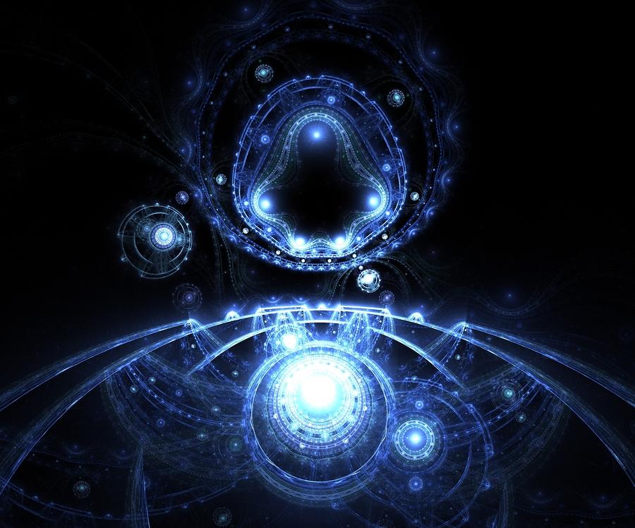 Fractal Shape In Space